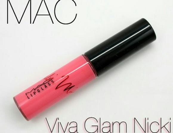mac viva glam lipglass nicki